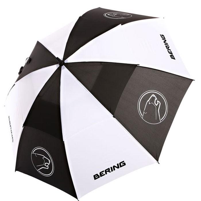 BERING umbrella sportswear motorcycle scooter black/white - BPM010