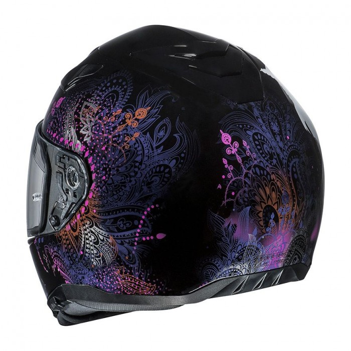 c46ee40f HJC road full-face motorcycle helmet i70 VAROK MC-8 woman metal black pink  purple