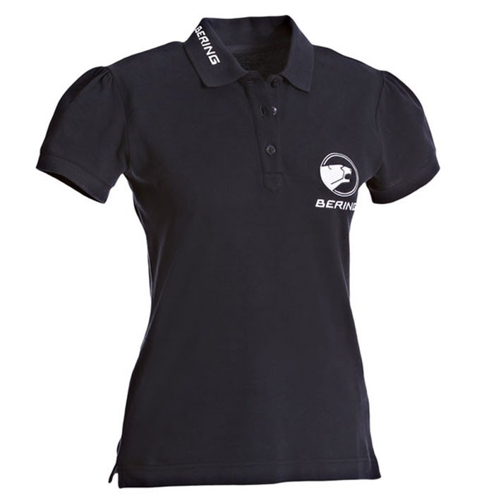 BERING LADY MAGALI motorcycle scooter woman polo t-shirt SPORTSWEAR blue-white BST022