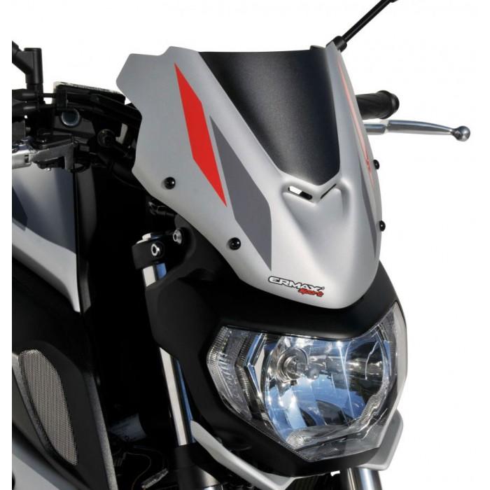 ermax yamaha MT07 2018 2020 nose fairing windscreen painted