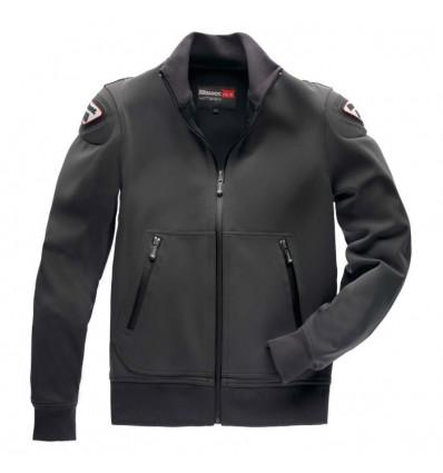 BLAUER blouson moto EASY sportswear homme gris anthracite