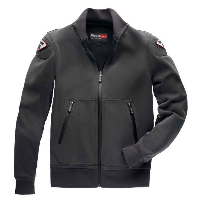blauer blouson moto easy sportswear homme gris anthracite. Black Bedroom Furniture Sets. Home Design Ideas