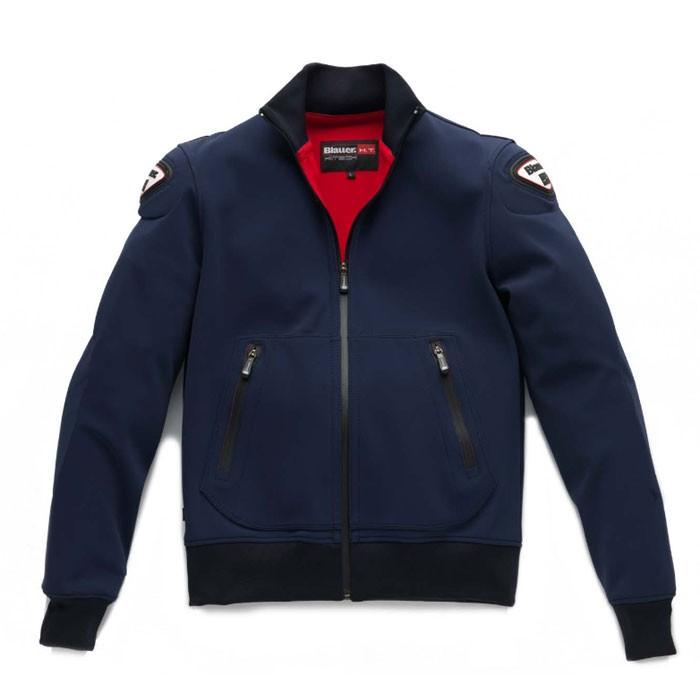 BLAUER blouson moto EASY sportswear homme bleu marine