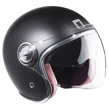 NOX vintage jet helmet moto scooter HERITAGE matt black