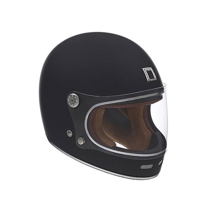 Nox Motorcycle Scooter Vintage Fiber Integral Helmet Revenge