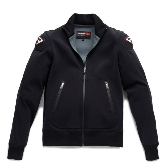 BLAUER blouson moto EASY sportswear homme noir