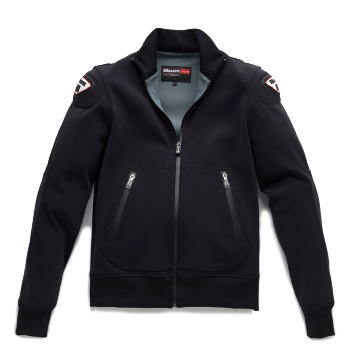 BLAUER motorcycle EASY sportswear man jacket black