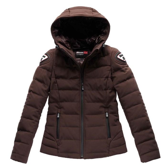 blauer blouson doudoune hiver moto scooter easy winter sportswear femme marron. Black Bedroom Furniture Sets. Home Design Ideas