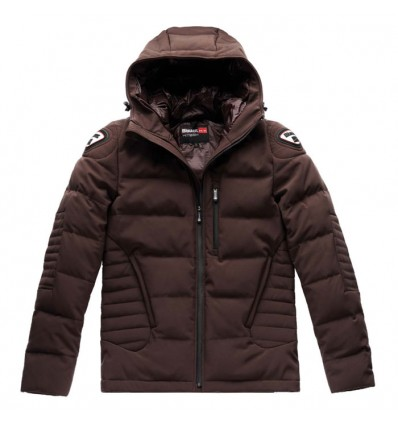 BLAUER motorcycle scooter EASY WINTER sportswear man winter down jacket brown