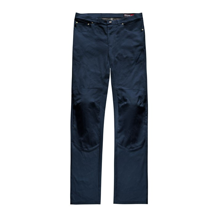 BLAUER KANVAS man Jeans motorcycle scooter pants aramide dark blue