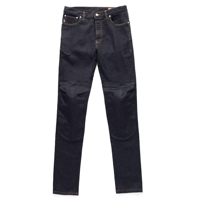 BLAUER KEVIN man Jeans motorcycle scooter pants aramide dark blue