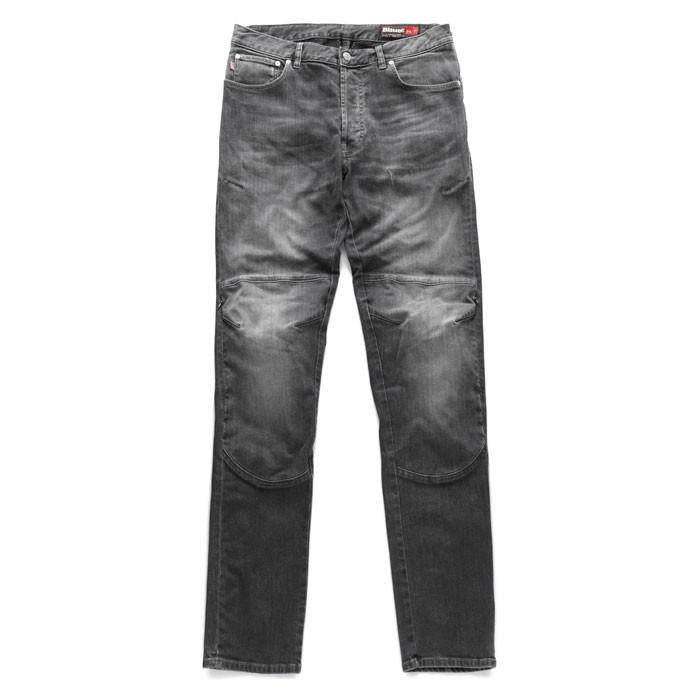 BLAUER pantalon jeans moto scooter homme KEVIN aramide noir stone