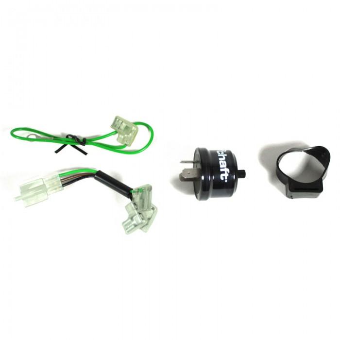 CHAFT centrale clignotante électronique réglable pour clignotants ampoules et led de moto IN821