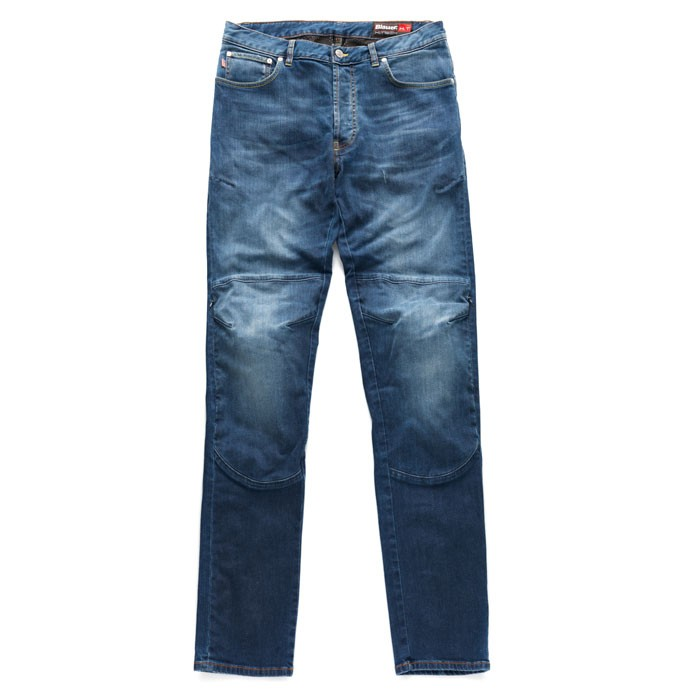 BLAUER pantalon jeans moto scooter homme KEVIN aramide bleu stone
