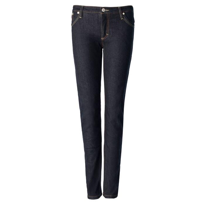 BLAUER pantalon jeans moto scooter femme LADY SCARLETT aramide bleu foncé