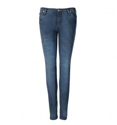BLAUER pantalon jeans moto scooter femme LADY SCARLETT aramide bleu stone wash