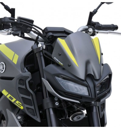 ermax yamaha MT09 2017 2019 nose fairing windscreen 22cm painted