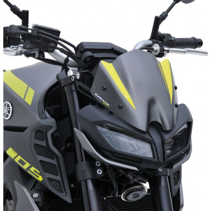 ermax yamaha MT09 2017 2020 nose fairing windscreen 22cm painted