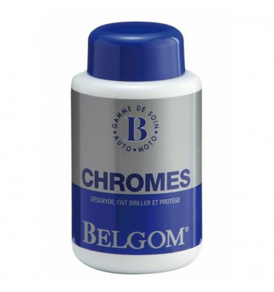 CHAFT BELGOM CHROMES cleaning product chromium of motorcycles or cars BE01