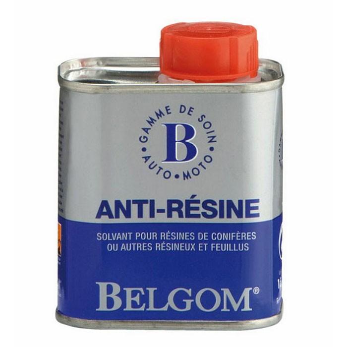 CHAFT BELGOM ANTI RESINE for tasks of resines of trees on motorcycle car BE07