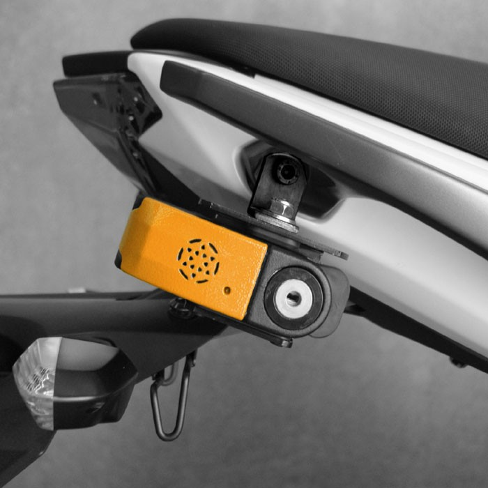 chaft fr securite antivol bloque disque moto scooter avec alarme fr15 sra av242. Black Bedroom Furniture Sets. Home Design Ideas