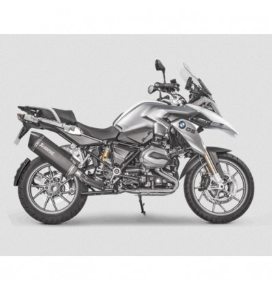 AKRAPOVIC BMW R1200 GS & ADVENTURE 2013 2017 pot d'échappement TITANE homologué EURO 4 SLIP-ON 1811-3302