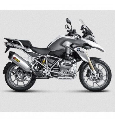 AKRAPOVIC BMW R1200 GS & ADVENTURE 2013 2018 inox main 2 in 1 header not approved 1812-0210