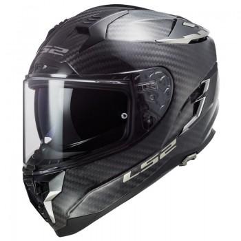 LS2 casque moto intégral en CARBONE FF327 CHALLENGER C SOLID mat carbone