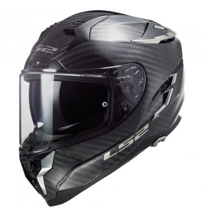 LS2 FF327 CHALLENGER C SOLID CARBON integral helmet matt carbon