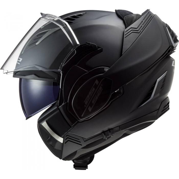 LS2 casque intégral modulable en jet FF900 VALIANT II moto scooter noir mat