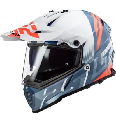 lowest discount in stock temperament shoes LS2 MX436 PIONEER EVO EVOLVE cross enduro quad trail helmet ...