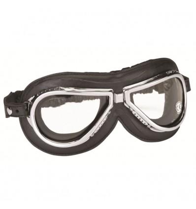 CHAFT paire de lunettes AVIATEUR universelle CLIMAX 500 pour casque jet rétro moto scooter LU03