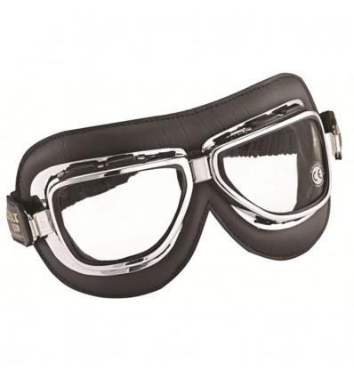 CHAFT paire de lunettes AVIATEUR universelle CLIMAX 510 pour casque jet rétro moto scooter LU04