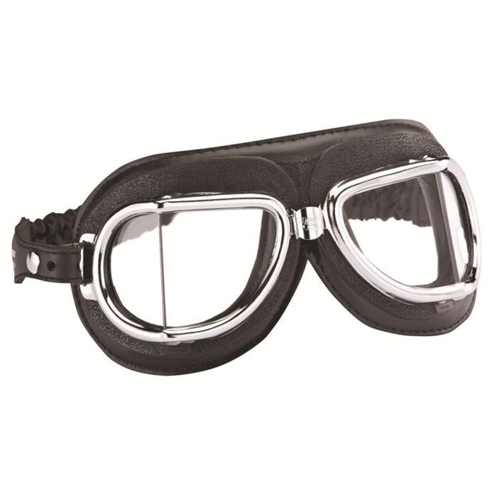 CHAFT paire de lunettes AVIATEUR universelle CLIMAX 513NP pour casque jet rétro moto scooter LU08