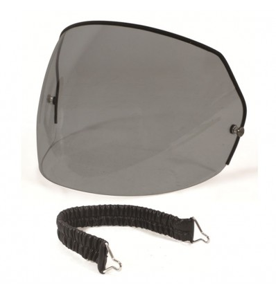 HARISSON motorcycle scooter winter screen for HARISSON helmet smoked CA12