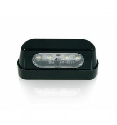 chaft clairage de plaque led pour moto homologu ce e11 in762. Black Bedroom Furniture Sets. Home Design Ideas