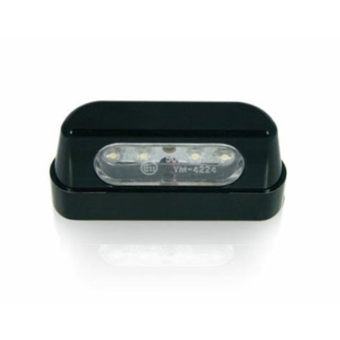 CHAFT éclairage de plaque à LED pour moto homologué CE E11 IN762
