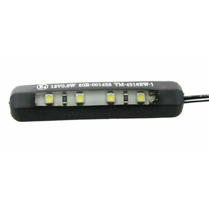 CHAFT éclairage de plaque flexible adhésif à LED pour moto homologué CE E4 IN766