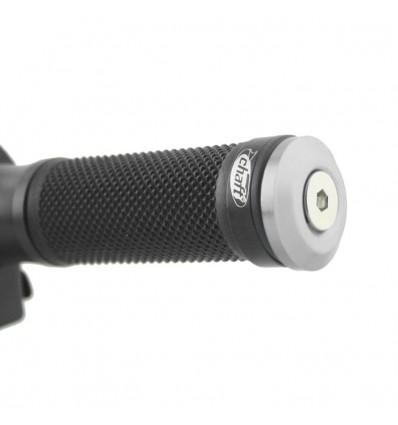 CHAFT embouts de guidon universels moto diamètre 13,8mm à 17mm - par paire