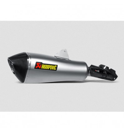 AKRAPOVIC BMW R1200 RT 2014 2018 pot d'échappement TITANE homologué EURO 4 SLIP-ON 1811-3305