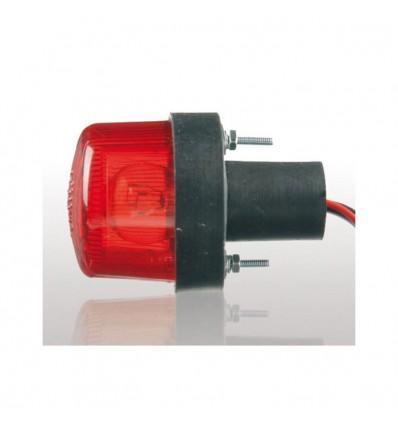 feu arrière ampoule rond rouge TOMATE universel homologué pour passage de roue moto