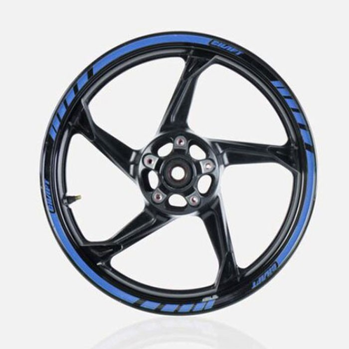 CHAFT DELUXE wheels stripes 6m for motorcycle scooter wheel
