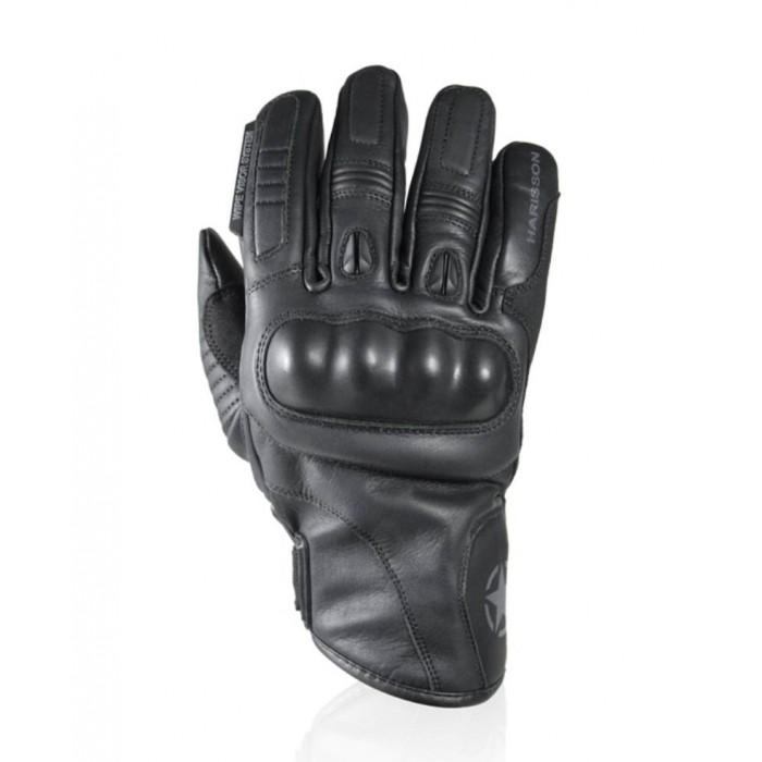 HARISSON CORNER EVO man mid-season motorcycle scooter waterproof leather gloves EPI