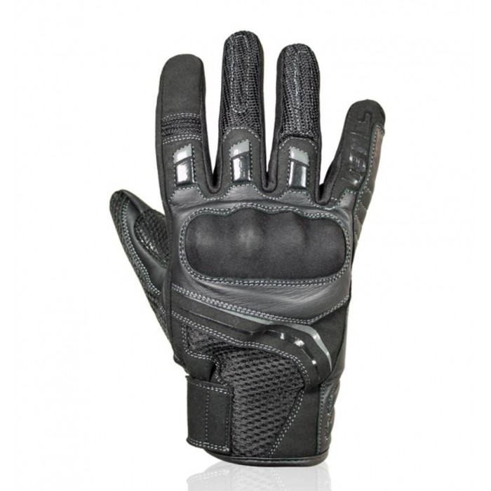HARISSON SPY EVO man summer motorcycle scooter leather & textile gloves EPI
