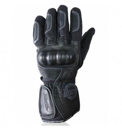 CHAFT gants HUSTON cuir et textile moto scooter mi-saison étanche homme EPI