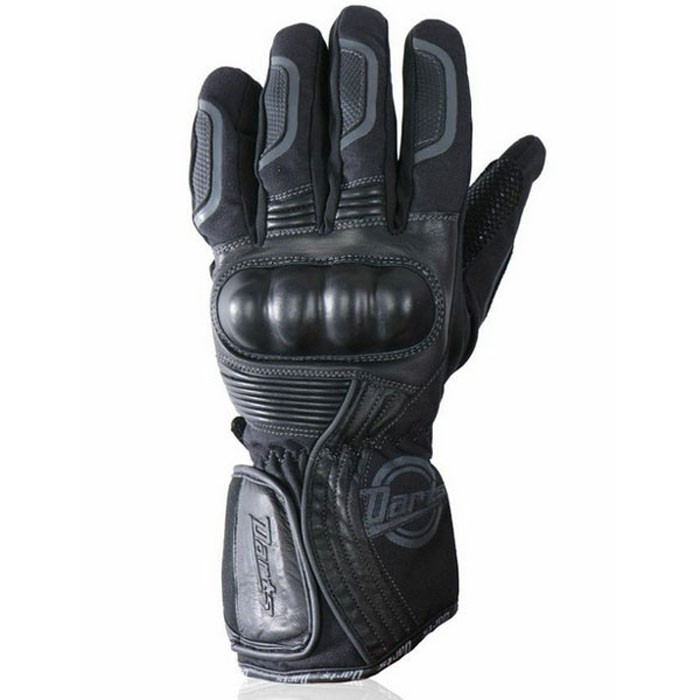 CHAFT HUSTON man mid-season motorcycle scooter waterproof leather and textile gloves EPI