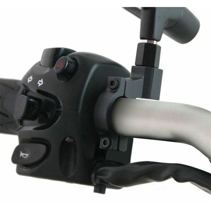 CHAFT universal support IN161 for rear-view mirror 10mm fixation on the handlebars for motorcycle