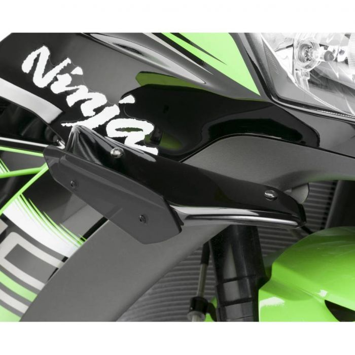 PUIG Downforce side spoilers Kawasaki ZX 10R / 10RR / 10R SE 2011 to 2019 ref 9882
