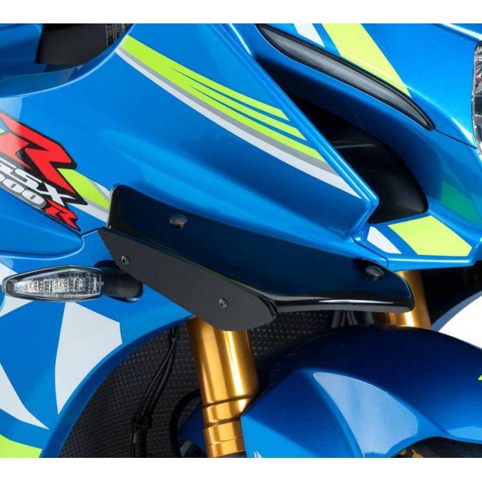 PUIG Downforce side spoilers Suzuki GSX R1000 & R1000R 2017 to 2019 ref 9738