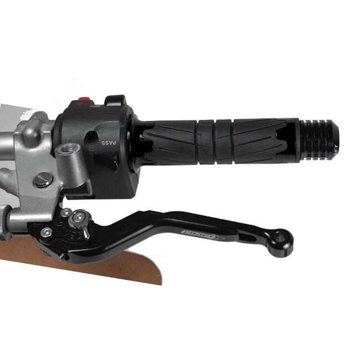 CHAFT poignées SPACE pour guidon moto standard 22mm